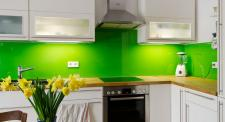 Küchenrückwand farbig