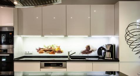 Küchenrückwand mit Fotodruck
