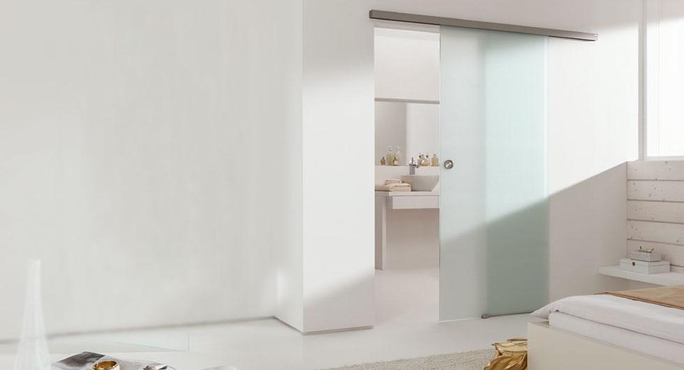 Glasschiebetüren günstig: Aktionspreis Agile 50 Satinato Glasschiebetüre