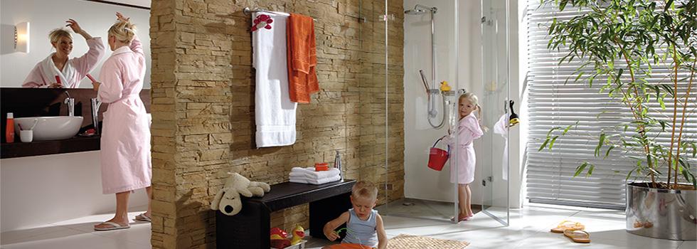 Duschabtrennungen SQUARE für BERLIN - Duschen aus Glas